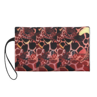 gIRAFFE CLUTCH BY BABY BLUE Wristlet