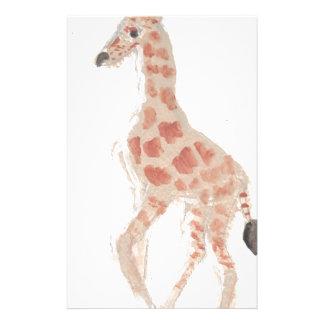 giraffe drawing eliana stationery