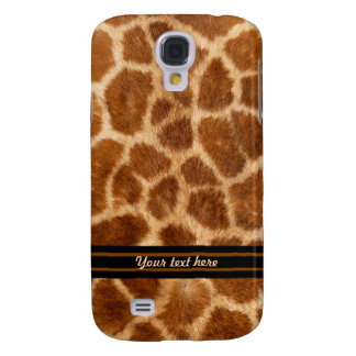 Giraffe Fur Pattern - Customize Galaxy S4 Case