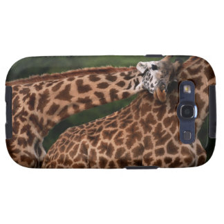 Giraffe (Giraffe camelopardalis tippleskirchi) Samsung Galaxy S3 Case