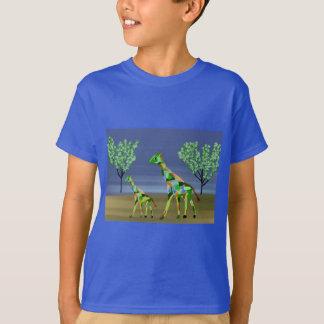 Giraffe Habitat T-Shirts