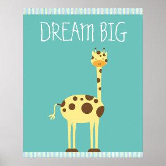 Giraffe ı Kids room Poster