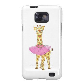 Giraffe in Tutu Samsung Galaxy SII Cover