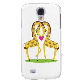 Giraffe Love Galaxy S4 Case