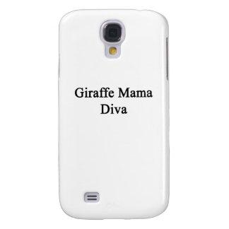 Giraffe Mama Diva Galaxy S4 Case