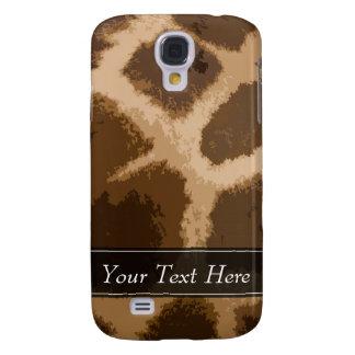 Giraffe Pattern Samsung Galaxy S4 Case