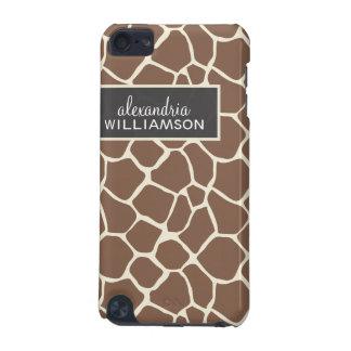 Giraffe Pattern iPod Touch Case (chocolate)
