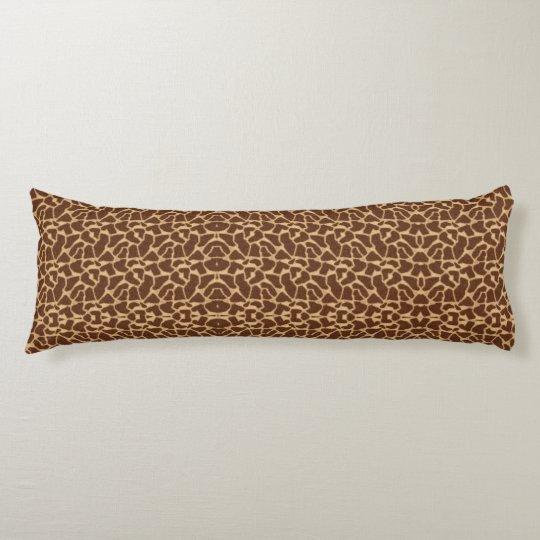 Giraffe Print Body Cushion
