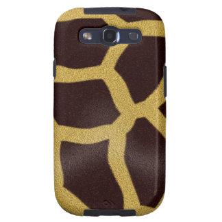 Giraffe Print Galaxy S3 Cases