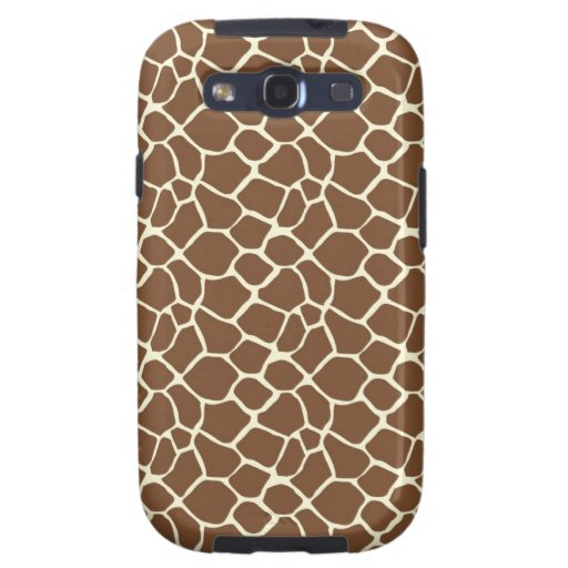 Giraffe Print Samsung Galaxy S3 Case