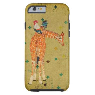 Giraffe & Rooster  iPhone 6 case