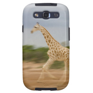 Giraffe running, side view (blurred motion) galaxy SIII covers