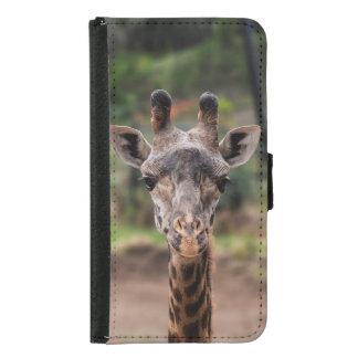 Giraffe Samsung Galaxy S5 wallet case