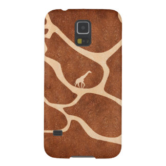 Giraffe Skin Pattern Surface Stains Lines Galaxy S5 Cover