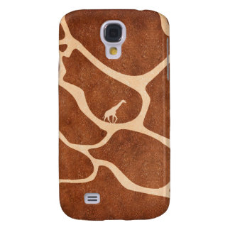 Giraffe Skin Pattern Surface Stains Lines Galaxy S4 Case