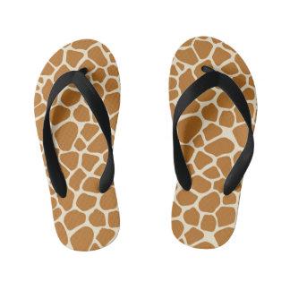 Giraffe Spots Kids Flip Flops Thongs