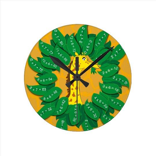Giraffe Times Table Club For Child Children Kids