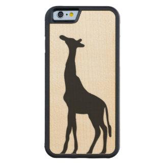 Giraffe Wooden Case: Iphone 6 Maple iPhone 6 Bumper Case