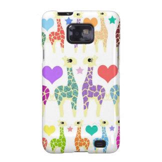 Giraffes Samsung Galaxy S2 Cover