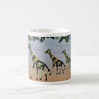 Giraffes Family Habitat Mug