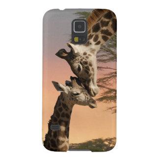 Giraffes Greeting Each Other Galaxy S5 Case