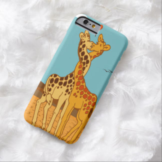 Giraffes In Love iPhone 6 case Barely There iPhone 6 Case