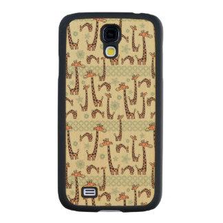 Giraffes Maple Galaxy S4 Case