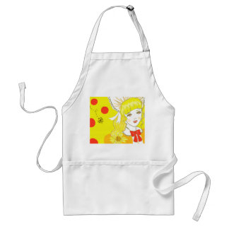 Girl and Buzzing Bee Apron