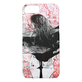 Girl and seahorse iPhone 8/7 case