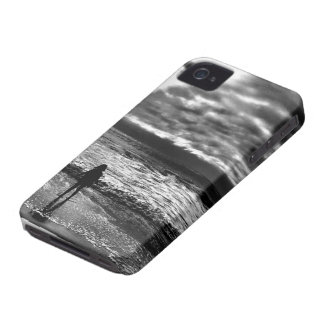 Girl at the Edge of the Ocean iPhone 4 Covers