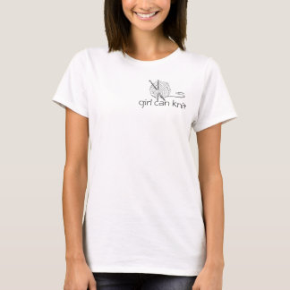 girl can knit T-Shirt