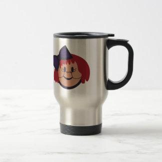 Girl Face Travel Mug