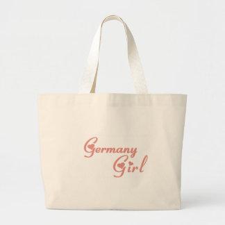 Girl from Germany Jumbo Tote Bag