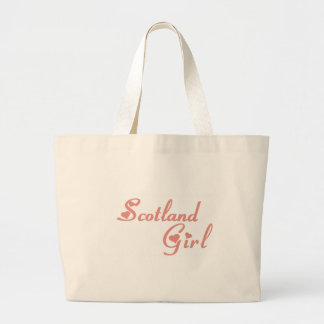 Girl from Scotland Tote Bags
