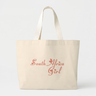 Girl from South Africa Canvas Bags
