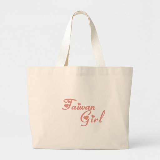 Girl from Taiwan Tote Bags
