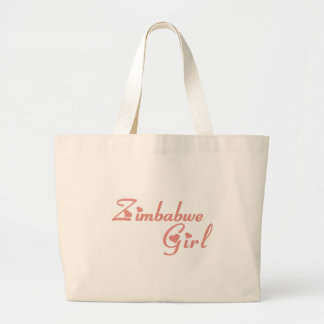 Girl from Zimbabwe Tote Bag