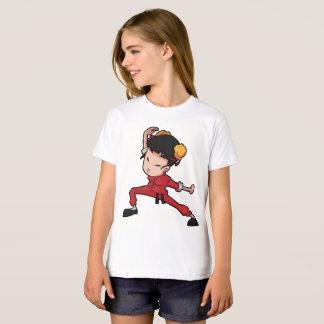 Girl Kids' Hanes TAGLESS® T-Shirt Short sleeves