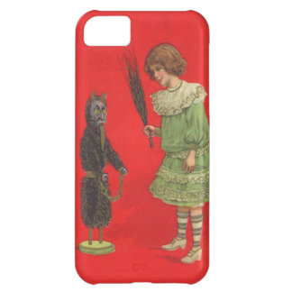 Girl Playing With Krampus Doll iPhone 5C Case