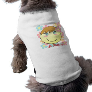 Girl Smiley Dog Shirt