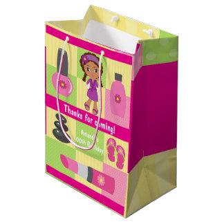 Girl Spa Birthday Party Guest Favor Medium Gift Bag