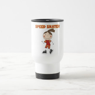 Girl Speed Skater Tshirts and Gifts Coffee Mug