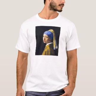 Girl w Pearl Earring ~ Vermeer T-Shirt