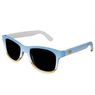 Girl Watching Waves Art: Premium sunglasses
