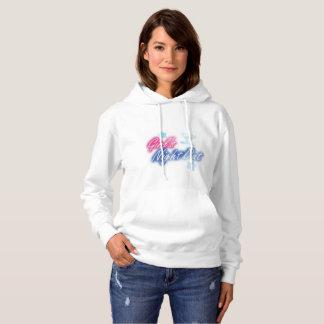 girl wear hoodie