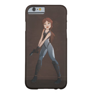 Girl with a Gun Barely There iPhone 6 Case