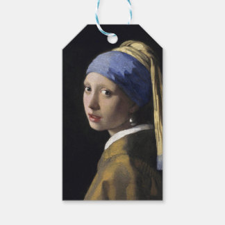 Girl with a Pearl Earring by Johannes Vermeer Gift Tags