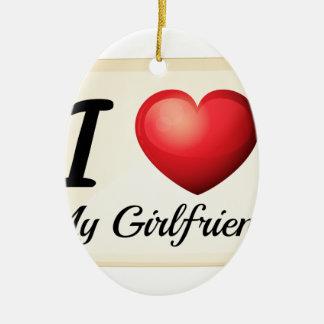 Girlfriend Christmas Ornament