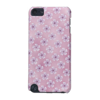 Girlie Case with cute pink Flowers iPod Touch (5th Generation) Cases