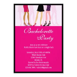Girls Bachelorette Party Invitation